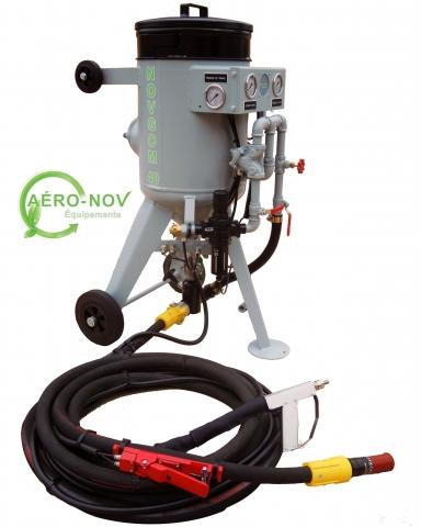 aerogommeuse hydrogommeuse novgom 40 aeronov quipements. Black Bedroom Furniture Sets. Home Design Ideas