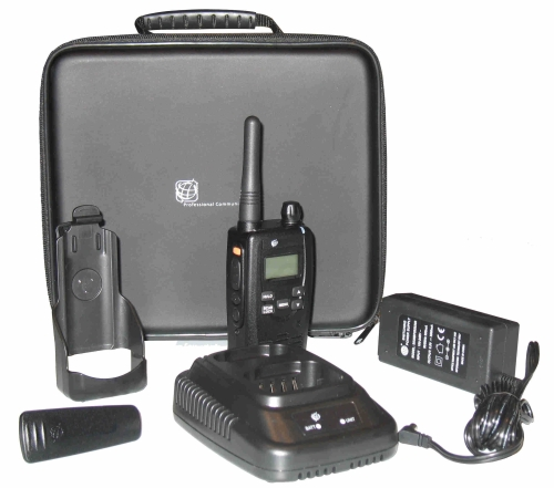 Atr-450pro : portatif radio ip67 tout terrain longue portée