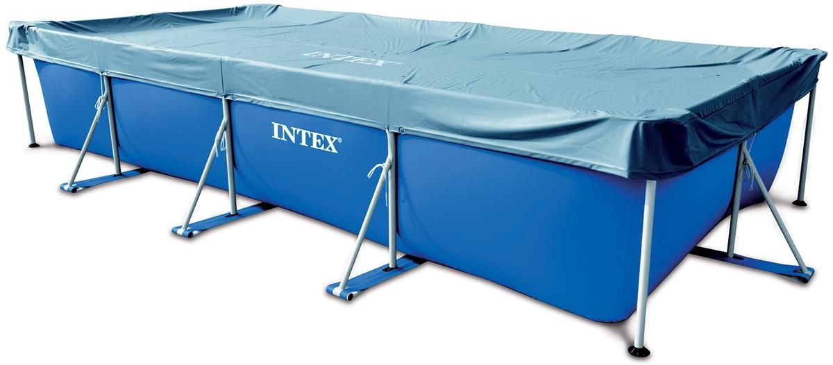 bache d 39 ete pour piscine rectangulaire hors sol 4 5 x. Black Bedroom Furniture Sets. Home Design Ideas