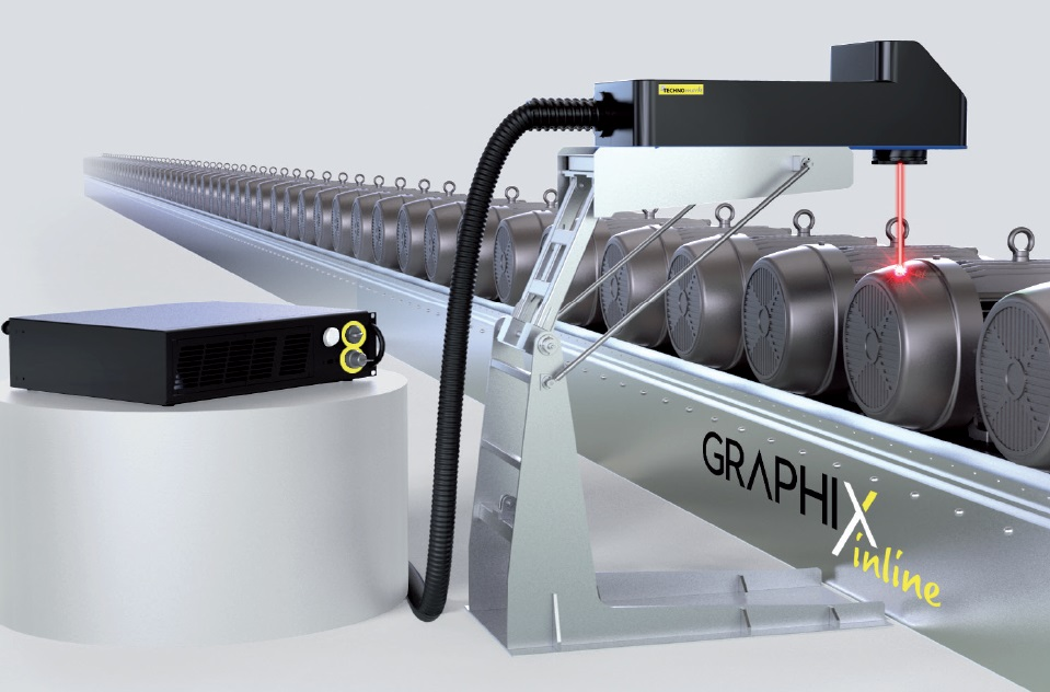 Machine de marquage laser graphix inline