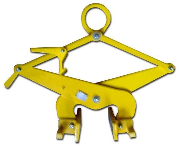 Pince pour levage de bloc parallélépipédique à surface non grasse