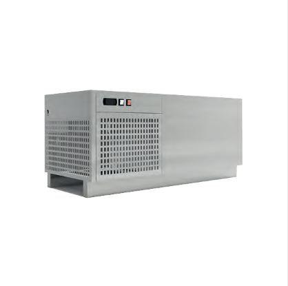 Bacs de refroidissement - refroidisseur d'eau horizontal 80 l
