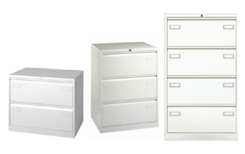 bisley classeur double 4 tiroirs ds blanc. Black Bedroom Furniture Sets. Home Design Ideas