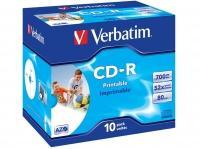 Cd-r imprimable verbatim   référence : 400404