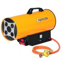 Chauffage à air pulsé gaz avec batterie