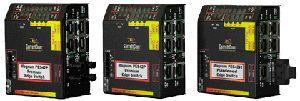 Pes42 - commut. ether. 5 ports rj45 dont 4 poe + 1 port f/o, 2 gammes de température, ac/dc