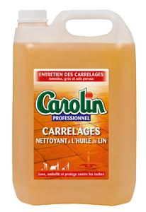 CAROLIN/SOL NET À L'HUILE DE LIN 5L