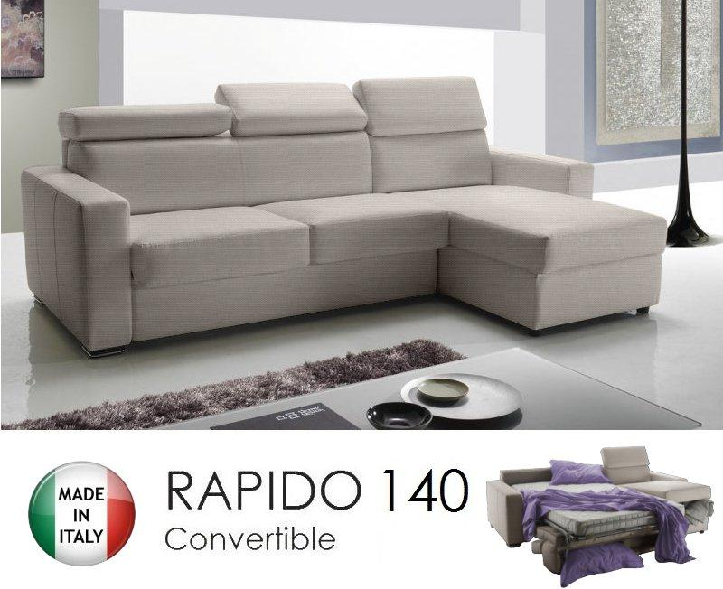 canape d 39 angle reversible rapido sidney 140 cm coffre tetieres reglables tissu tweed cross ecru. Black Bedroom Furniture Sets. Home Design Ideas
