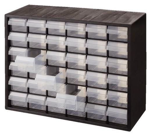 Casier de rangement 36 tiroirs - Colonne rangement plastique ...