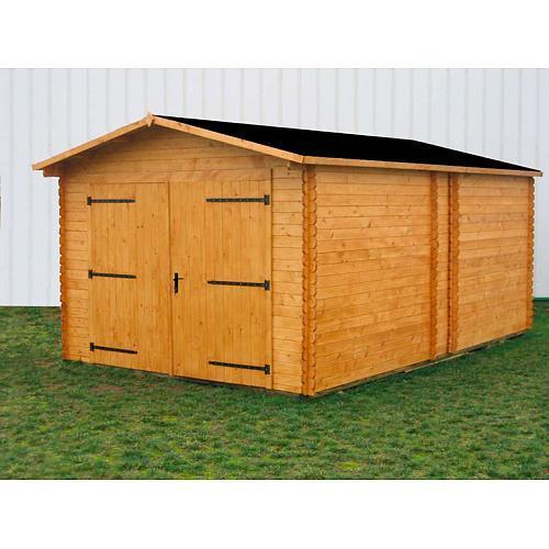 Garage en bois comparez les prix pour professionnels sur for Garage bois traite