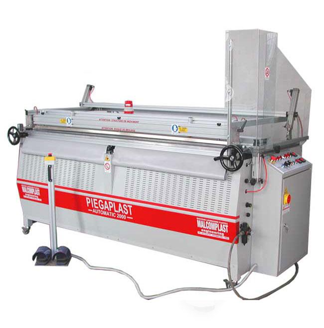 Machines re chauffantes pour plier les plastiques - Machine pour recycler le plastique ...