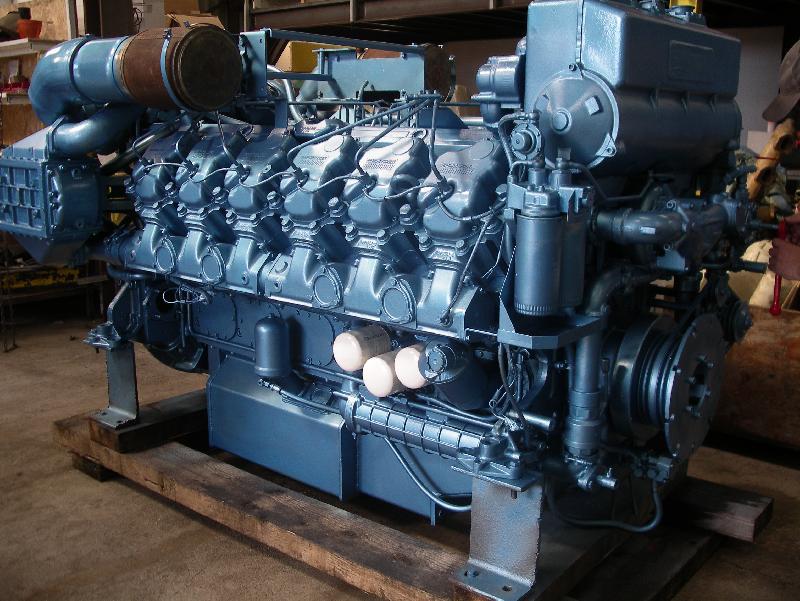 moteur marin baudouin 12m26 sr2