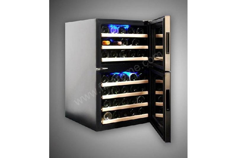 armoire vin bi temp rature professionnelle 45 bouteilles comparer les prix de armoire vin. Black Bedroom Furniture Sets. Home Design Ideas