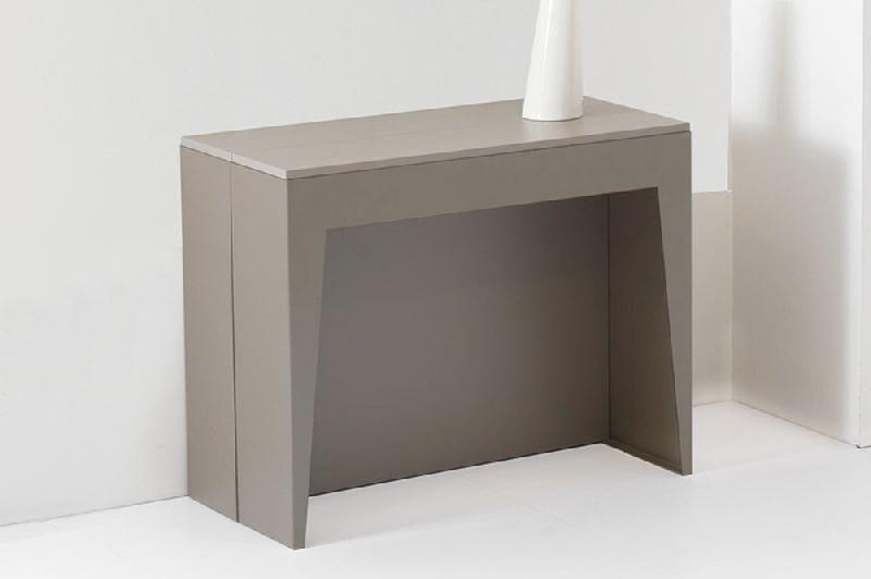 Tables consoles inside75 achat vente de tables - Console extensible taupe ...