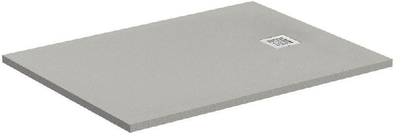 receveur ultraflat s 120x80 gris beton rectangle. Black Bedroom Furniture Sets. Home Design Ideas
