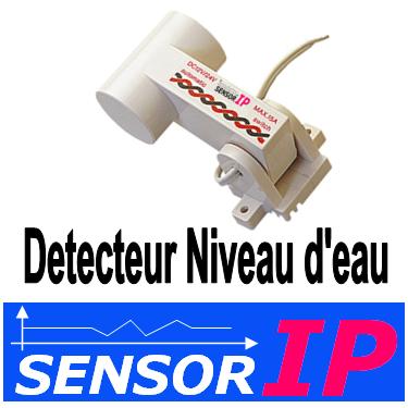 detecteur niveau d 39 eau sensor ip. Black Bedroom Furniture Sets. Home Design Ideas