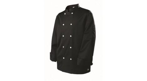 veste de cuisine homme blake molinel noire tailles vetements xxl. Black Bedroom Furniture Sets. Home Design Ideas