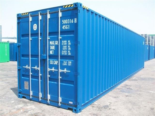 Containers Maritimes Conteneur Aménagé Pieds Hellopro Fr