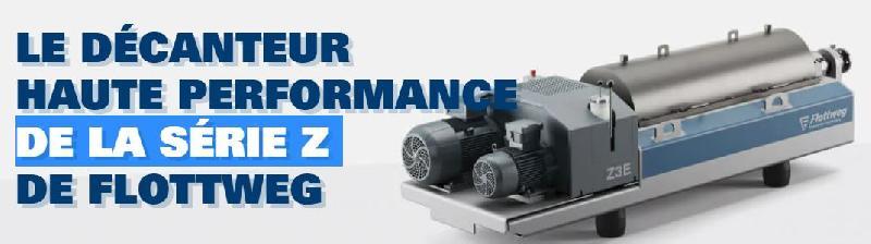 Décanteur haute performance de la série z de flottweg