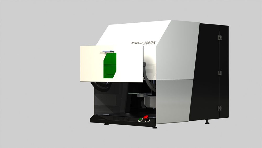 Laser de gravure a fibre
