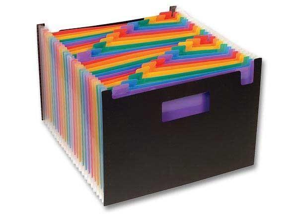 trieur de bureau viquel 25 compartiments indexables. Black Bedroom Furniture Sets. Home Design Ideas