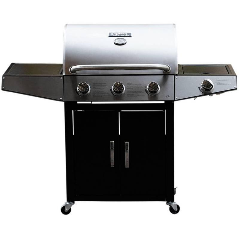 Barbecue gaz Festa 4 4 brûleurs dont 1 latéral 10.5kW