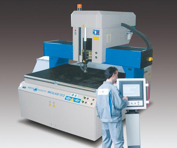 Machine de découpe laser textile