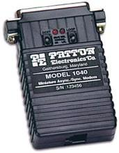 PATTON 1040 - PSEUDO-MODEM MINIATURE RS232 ASYNCHRONE OU SYNCHRONE POINT-À-POINT