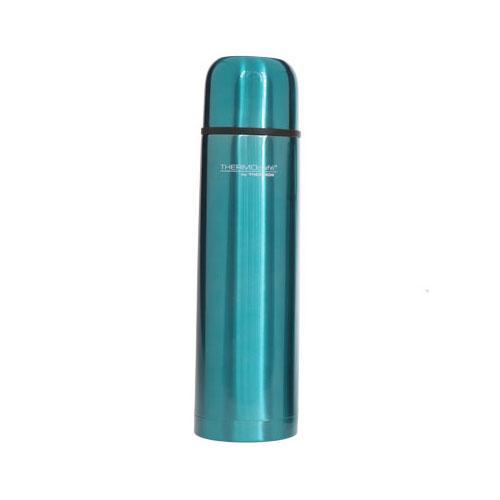 bouteille isotherme inox 1l bleu brillant everyday thermos comparer les prix de bouteille. Black Bedroom Furniture Sets. Home Design Ideas