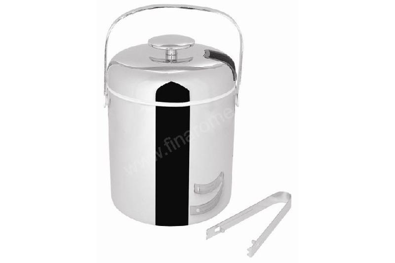 seau glace isotherme professionnel en inox 1 23 l comparer les prix de seau glace. Black Bedroom Furniture Sets. Home Design Ideas