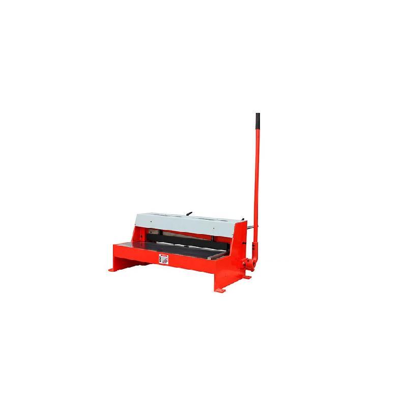 cisaille guillotine a tole d 39 etabli manuelle pour coupe de feuilles 650 x 1 50 mm tbs 650pro. Black Bedroom Furniture Sets. Home Design Ideas