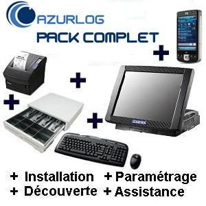 SOLUTION RESTAURANT AZURLOG  - PACK COMPLET POCKET PC PRÊT À UTILISER
