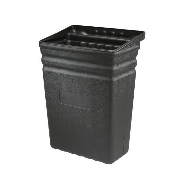 grand bac poubelle amovible noir. Black Bedroom Furniture Sets. Home Design Ideas