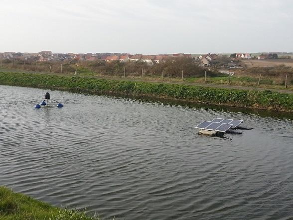 Oxygenation lagunages pour les eaux usees