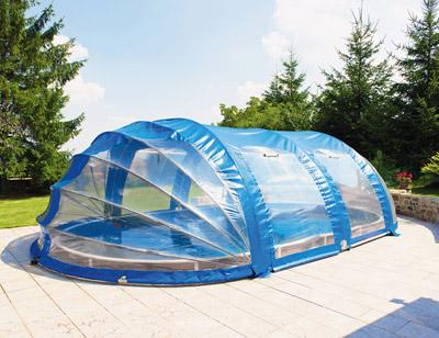Abri piscine azuro for Abri piscine pvc