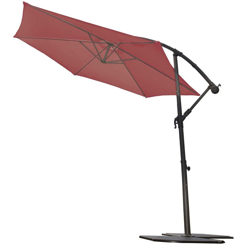 Parasol manivelle tous les fournisseurs de parasol - Parasol deporte rouge ...