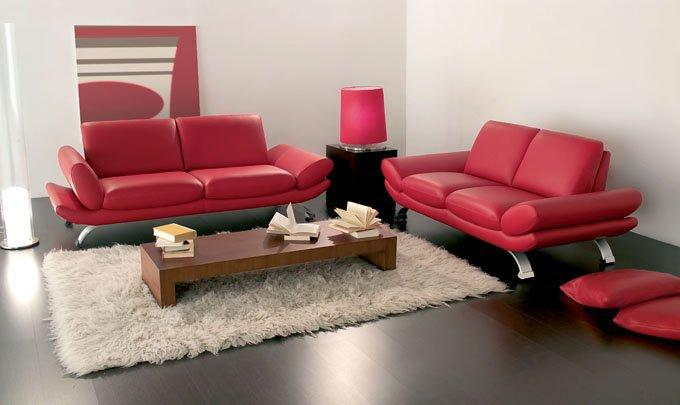 salon design 2 3 places paco de nicoletti home cuir vachette accoudoirs relevables. Black Bedroom Furniture Sets. Home Design Ideas
