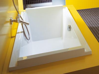 baignoire rectangulaire en acrylique starck 1800x800mm. Black Bedroom Furniture Sets. Home Design Ideas
