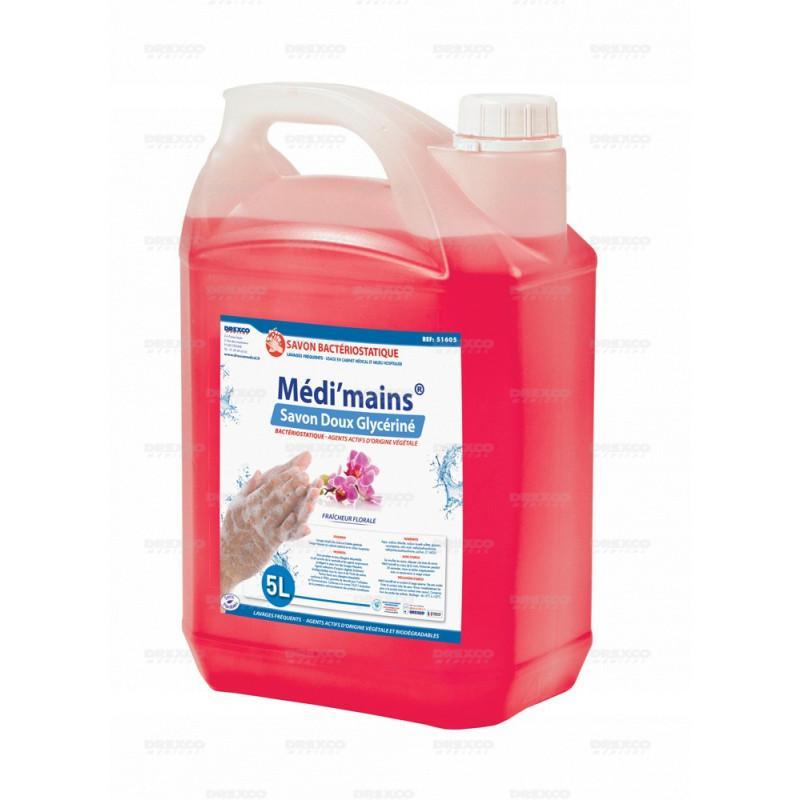 Lotion lavante medi'mains floral 5 litres