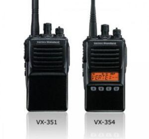 RADIO PORTABLE PROFESSIONNELLE VX-350
