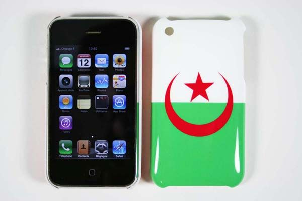 COQUE IPHONE 3G / 3GS - DRAPEAU ALGERIE [2€-9€]