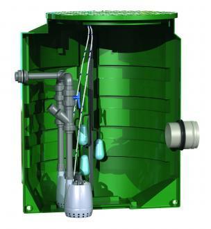 Poste de relevage eau claire : calidouble 1600