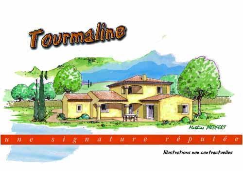 villa a etage partiel pour le modele tourmaline. Black Bedroom Furniture Sets. Home Design Ideas