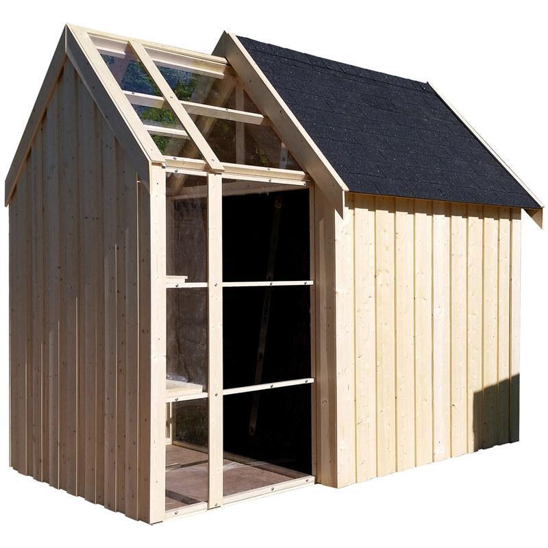 Abris de jardin en bois comparez les prix pour for Prix abri de jardin