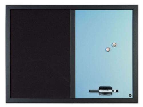 tableau memo mixte magn tique et effa able bleu comparer les prix de tableau memo mixte. Black Bedroom Furniture Sets. Home Design Ideas