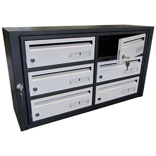 boites aux lettres modele kappa 04. Black Bedroom Furniture Sets. Home Design Ideas