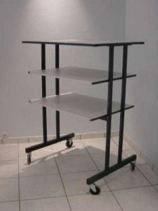 Table televiseur a 3 plateaux for Table televiseur