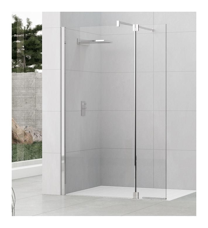 Crans et parois de douches comparez les prix pour for Pose paroi de douche fixe
