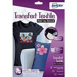 Papier et film de transfert avery achat vente de - Papier transfert pour textile ...