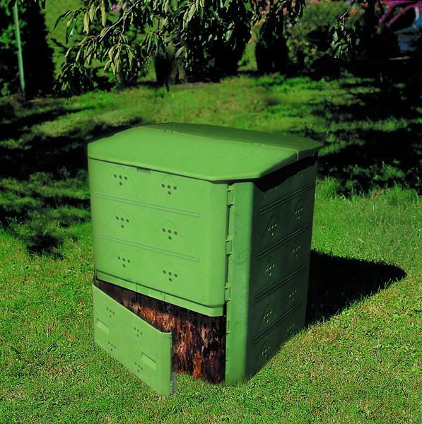 silo compost 400 litres comparer les prix de silo compost. Black Bedroom Furniture Sets. Home Design Ideas